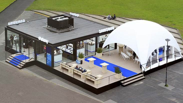 dome tent samsung