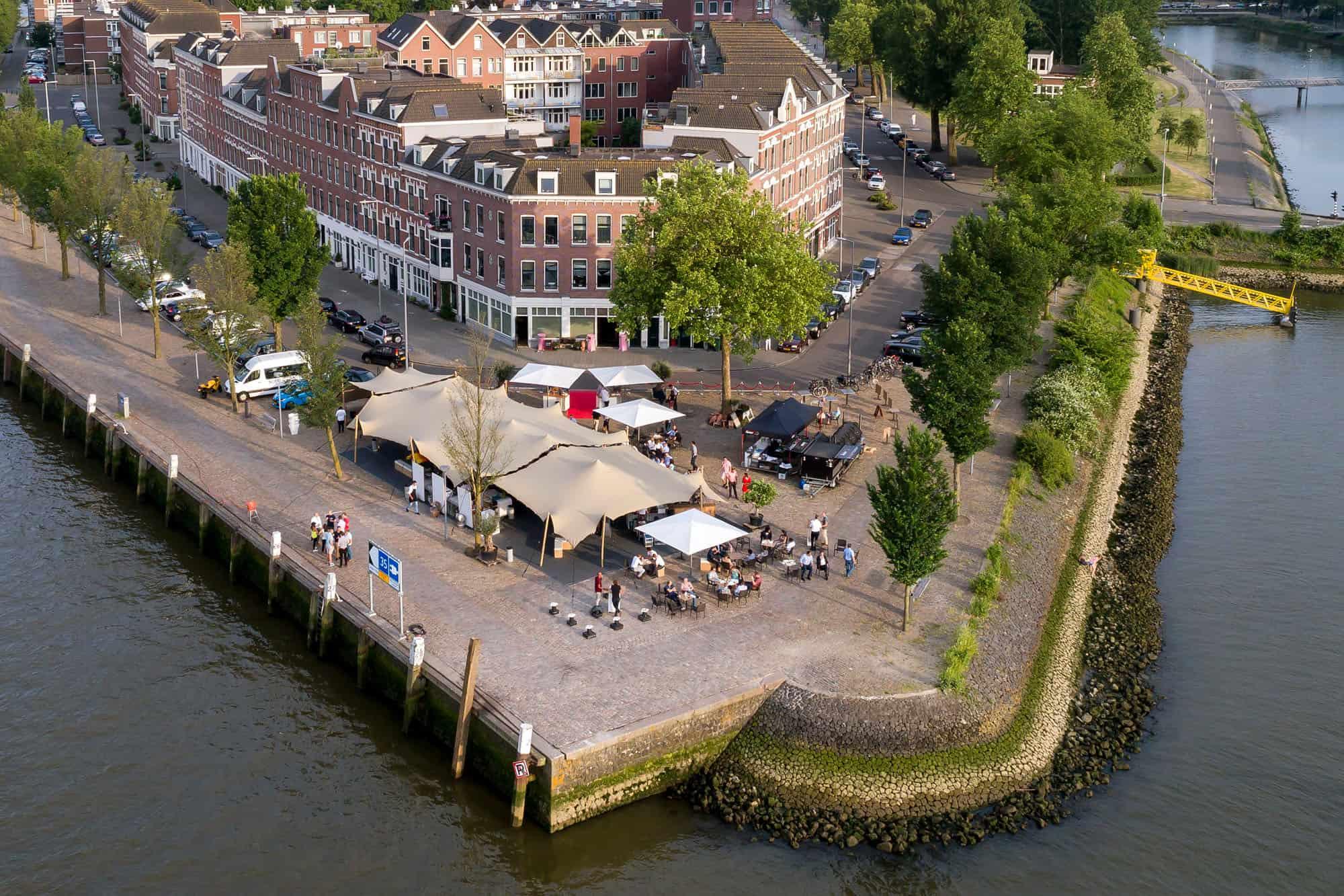 Stretchtent Borgo d'Aneto Rotterdam